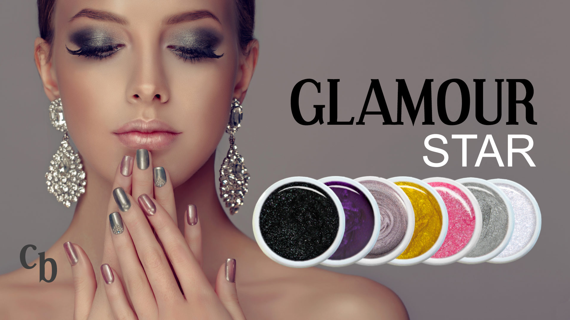 Nails Shop Glamour Star Farbgel Set