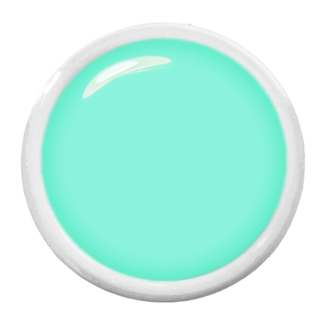 Farbgel Tiffany Grün