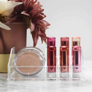 Beauty Organizer Display für Lippenstifte und Kosmetik