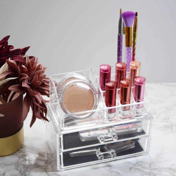 Beauty Organizer Display mit 2 Schubladen