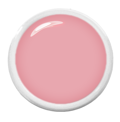 Farbgel Pastell Rosa Topping