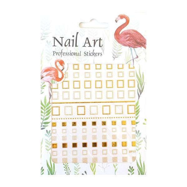 Nail Sticker Square