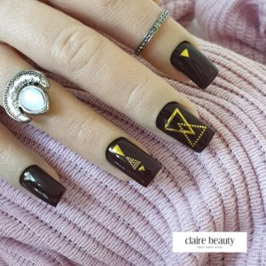 Nail Sticker Triangle 3D