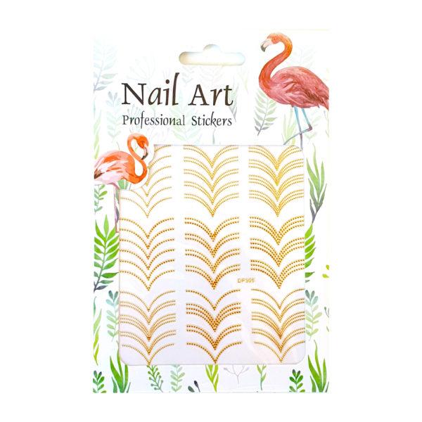 Nail Sticker V-Form
