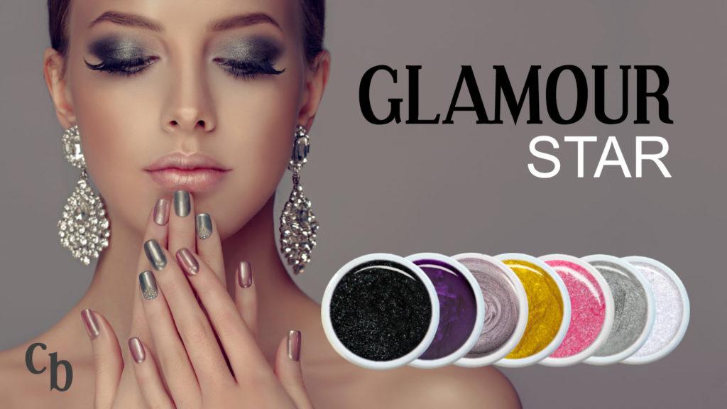 Nails Shop Glamour Star Farbgel Set Farbgel Kollektion