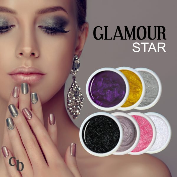 Farbgel Set Glamour Star