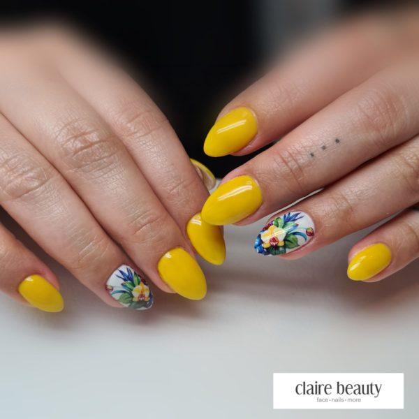 Farbgel Gelb