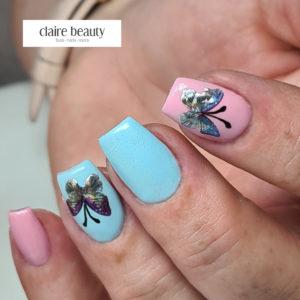Nail Sticker Schmetterling Hologramm