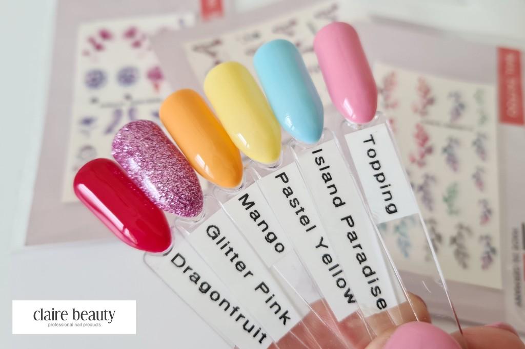 Frühlingsfarben für Nägel Pastel Vibes