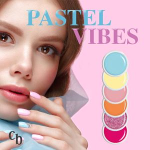 Pastel Vibes Farbgel Set Pastell Kollektion